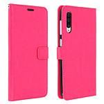 Avizar Etui folio Rose Éco-cuir pour Samsung Galaxy A50