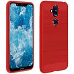 Avizar Coque Rouge pour Nokia 8.1