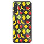 1001 Coques Coque silicone gel Samsung Galaxy A21 motif Fruits tropicaux