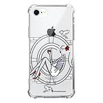 LA COQUE FRANCAISE Coque iPhone 7/8/ iPhone SE 2020 anti-choc souple angles renforcés transparente Sur les Toits de Paris