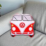 Coussin combi VW Rouge