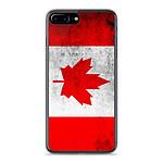 1001 Coques Coque silicone gel Apple IPhone 8 Plus motif Drapeau Canada