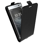 Avizar Etui à clapet Noir pour Sony Xperia XA2