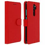 Avizar Etui folio Rouge pour Xiaomi Redmi Note 8 Pro
