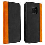 Avizar Etui folio Noir pour Huawei Mate 20 Pro
