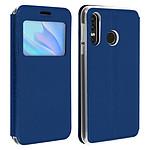 Avizar Etui folio Bleu pour Huawei P30 Lite , Honor 20S , Huawei P30 Lite XL