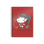 DC Comics - Cahier Harley Quinn Chibi Puddin