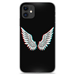 1001 Coques Coque silicone gel Apple iPhone 11 motif Ailes d'Ange