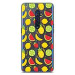 1001 Coques Coque silicone gel Oppo Reno 2 motif Fruits tropicaux