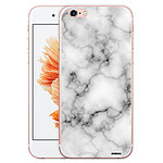 EVETANE Coque iPhone 6 Plus / 6S Plus rigide transparente Marbre blanc Dessin
