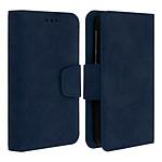 Avizar Etui folio Bleu pour Tous les smartphones jusqu'à 5,5 pouces