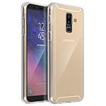 Avizar Coque Transparent Intégrale pour Samsung Galaxy A6 Plus
