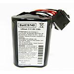 Visonic BAT MCS - Pile pour sirènes d'alarme MCS-710, MCS-720 et MCS-730