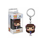 Overwatch - Porte-cles Pocket POP! Vinyl D.Va 4 cm