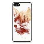 1001 Coques Coque silicone gel Apple IPhone 8 motif RF Blind Fox