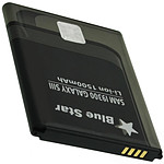 Avizar Batterie Noir pour Samsung Type EBL1G6LLU