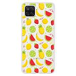 1001 Coques Coque silicone gel Samsung Galaxy A12 5G motif Fruits tropicaux