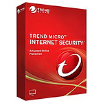 Trend Micro Internet Security - Licence 1 an - 3 postes - A télécharger