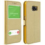Avizar Etui folio Dorée pour Samsung Galaxy S6