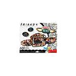 Friends - Puzzle Shaped Central Perk (600 pièces)