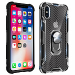 Avizar Coque Noir Hybride pour Apple iPhone X , Apple iPhone XS