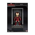 Iron Man 3 - Figurine Mini Egg Attack Hall of Armor Iron Man Mark VII 8 cm