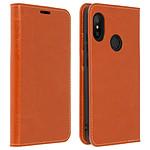Avizar Etui folio Camel pour Xiaomi Mi A2 Lite
