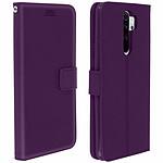 Avizar Etui folio Violet pour Xiaomi Redmi Note 8 Pro