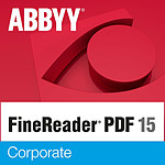 Abbyy FineReader PDF 15 Corporate - Licence perpétuelle - 1 poste - A télécharger