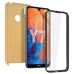 Avizar Coque Dorée pour Huawei Y7 2019