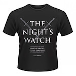 Le Trône de fer - T-Shirt The Night Watch - Taille M