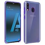 Avizar Coque Violet pour Samsung Galaxy A40