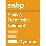 EBP Devis & Facturation Bâtiment - Licence 1 an - 1 poste - A télécharger