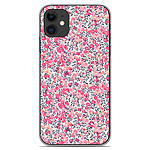 1001 Coques Coque silicone gel Apple iPhone 11 motif Liberty Wiltshire Rose