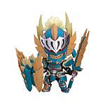 Monster Hunter World Iceborne - Figurine Nendoroid Hunter: Male Zinogre Alpha Armor 10 cm