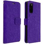 Avizar Etui folio Violet pour Samsung Galaxy S20