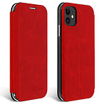 Avizar Etui folio Rouge pour Apple iPhone 11