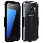Avizar Coque étanche Noir pour Samsung Galaxy S7