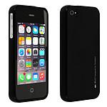 Avizar Coque Noir pour Apple iPhone 4 , Apple iPhone 4S