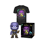 Avengers Infinity War - POP! & Tee set figurine et T-Shirt Thanos - Taille S
