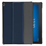 Avizar Etui folio Bleu Nuit pour Lenovo Smart Tab M10 10.1