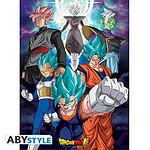Dragon Ball -  Super Poster Fusions (52 X 38 Cm)