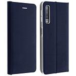 Avizar Etui folio Bleu Nuit pour Samsung Galaxy A7 2018