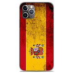 1001 Coques Coque silicone gel Apple iPhone 11 Pro motif Drapeau Espagne