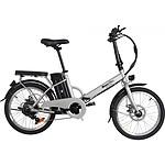 MoovWay Vélo électrique pliable URBAN Gris