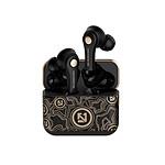 Inkasus Ecouteurs sans fil Bluetooth 5.0 - Street Edition Noir