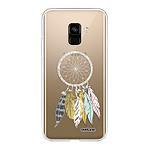 EVETANE Coque Samsung Galaxy A8 2018 souple transparente Attrape Rêves Scandinave