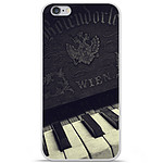 1001 Coques Coque silicone gel Apple iPhone 6 / 6S motif Old piano