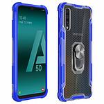Avizar Coque Bleu Contours Bumper pour Samsung Galaxy A50