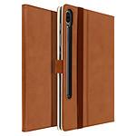 Avizar Etui folio Marron pour Samsung Galaxy Tab S6 10.5